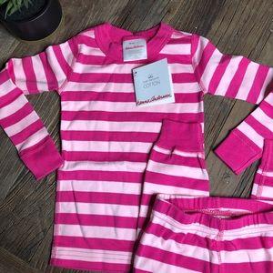 Hanna Andersson Pajamas - NWT Hanna Andersson bold stripe long john pajamas